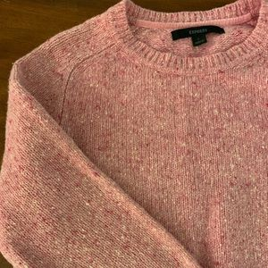 Pink Express Sweater